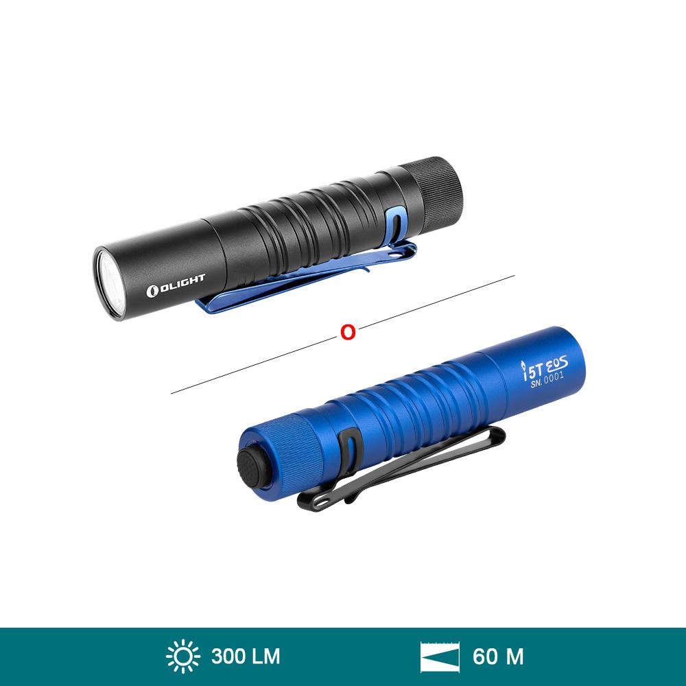 Olight i5T EOS (300 Lúmenes Linterna EDC Recargable Impermeable)