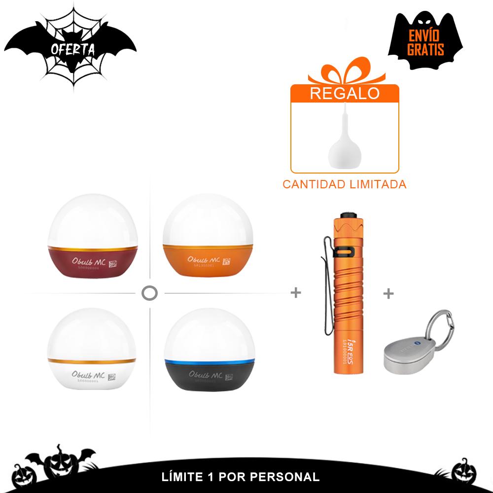 Olight Obulb MC + I5R Naranja + Oport Paquete de envío gratis