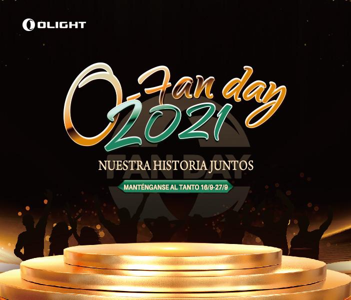 Olight O-fan Day 2021 – Nuestra historias juntos!