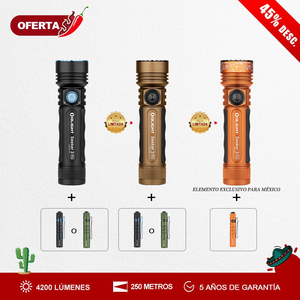 Olight Seeker 3 Pro paquete