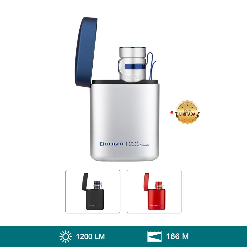 Olight Baton 3 Kit Edición Premium 1200 Lúmenes Linterna EDC