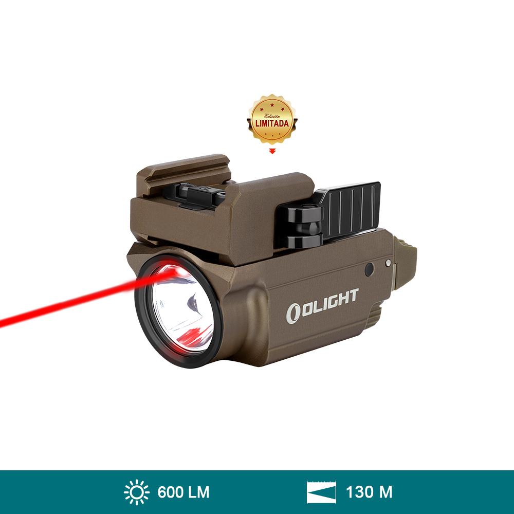 Olight Baldr RL Mini Linterna Militar con Láser Rojo