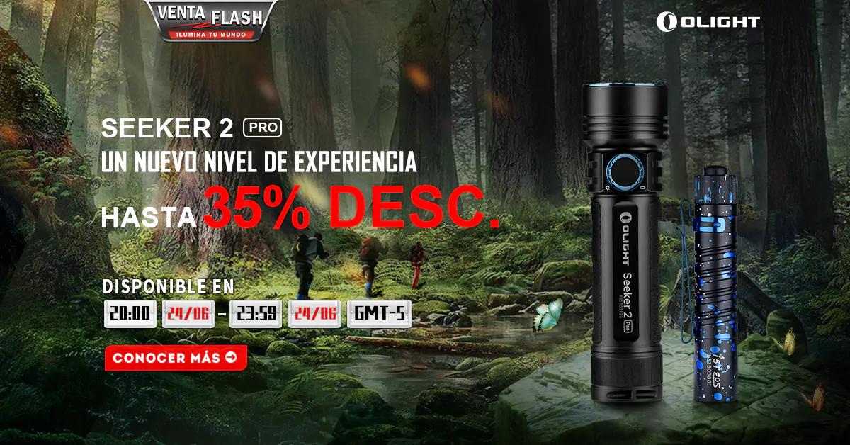 Olight 35% Descuento Para Seeker 2 Pro + i5T Aul Estrellado