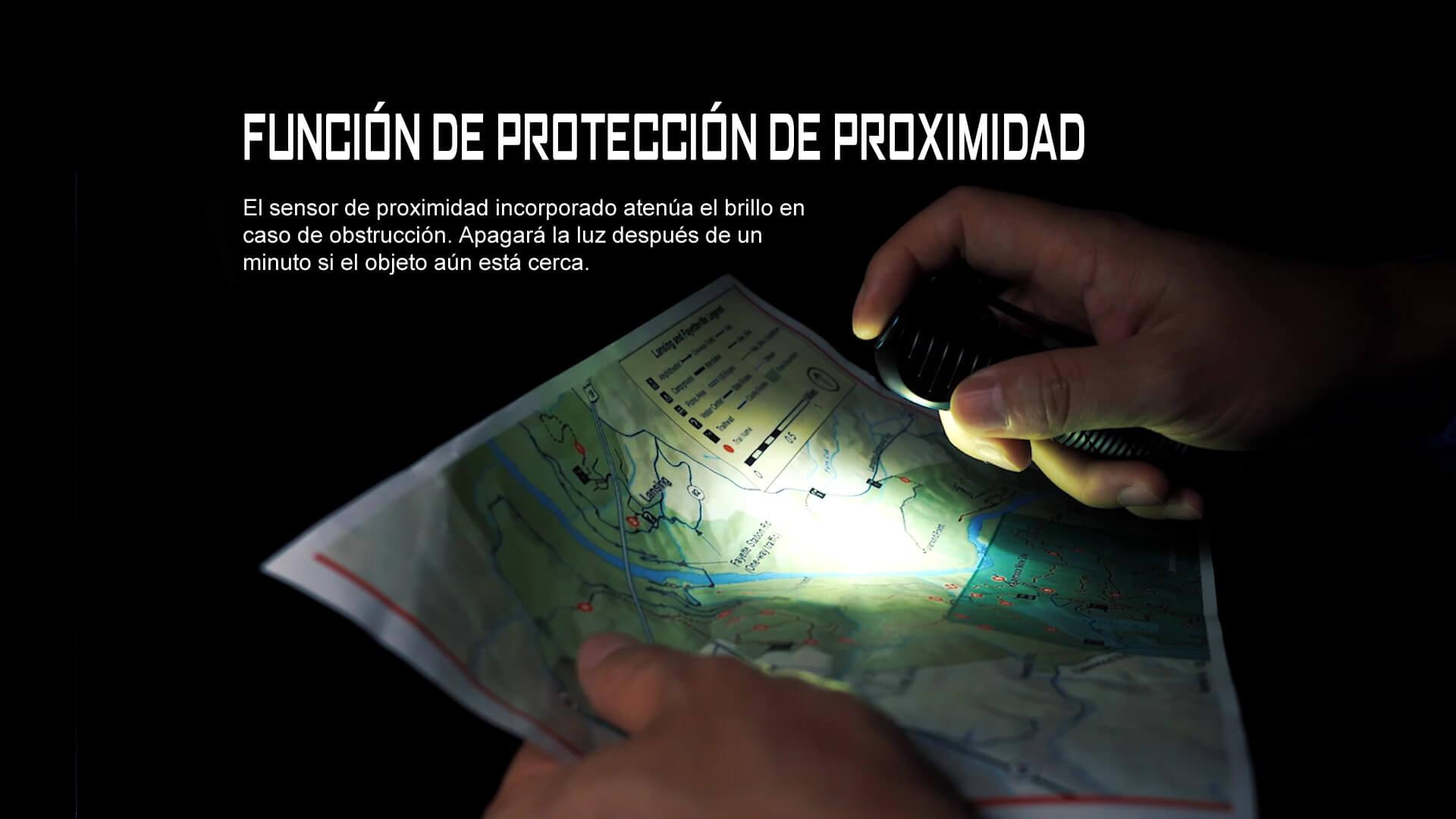 Diseño especial para una función de protección de proximidad de Perun 2